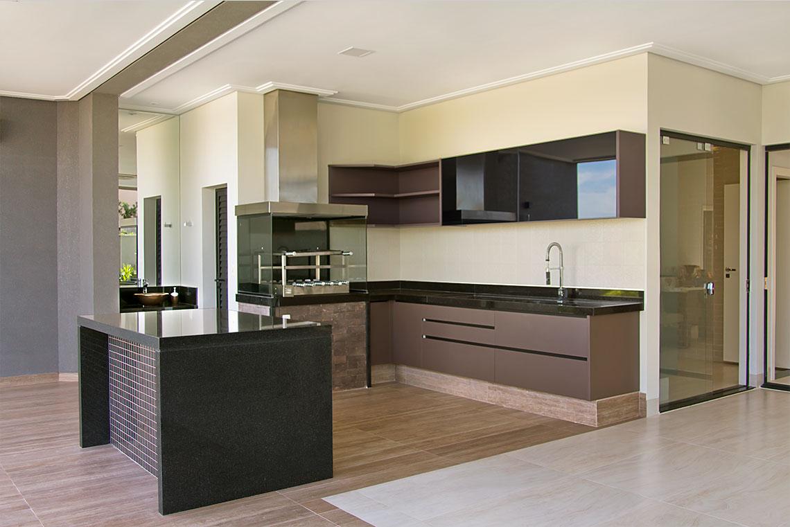 Projeto: Cozinha e Área Gourmet - Marcato
