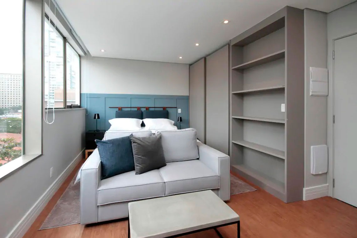 Apartamento 25m² - Marcato