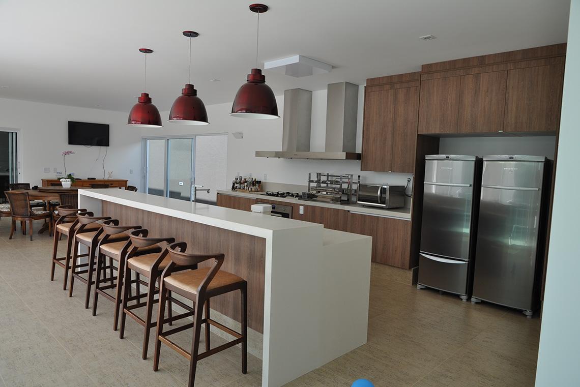 Projeto: Cozinha Residencial e Área Gourmet