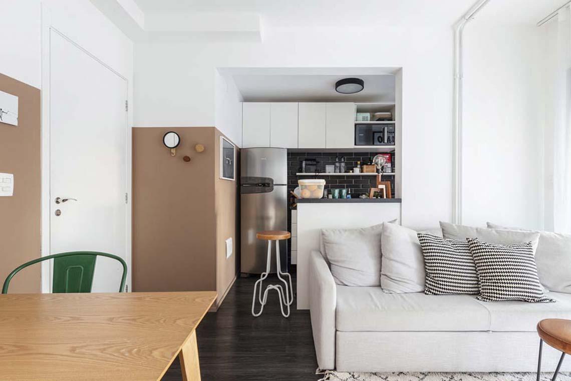Projeto: Bela Vista Apartamento 48m